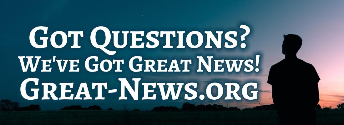 great-news.org Website banner